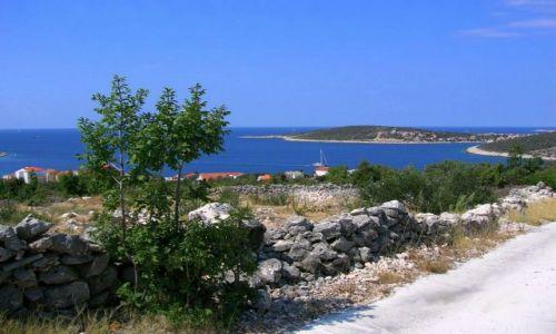 Zdjecie CHORWACJA / Dalmacja / Sevid / Widok na Półwysep Sevid