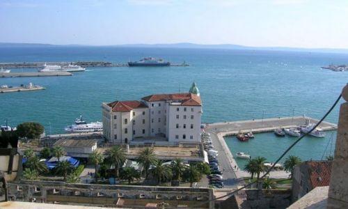 Zdjecie CHORWACJA / Dalmacja / Split / Widok z wieży katedralnej w Splicie