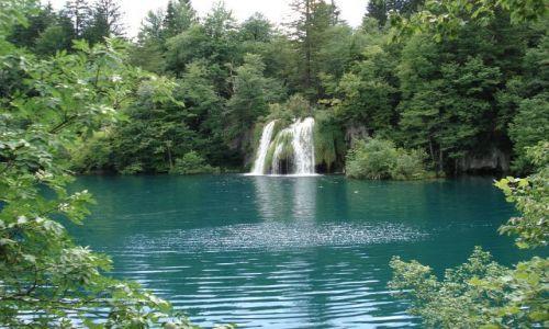 Zdjecie CHORWACJA / Plitvice / Park Narodowy Jezior Plitwickich / Konkurs Cuda Natury - Plitvice - jezioro Okrugljak