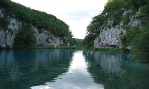 Zdjecie CHORWACJA / Plitvice / Park Narodowy Jezior Plitwickich / Plitvice - jezioro