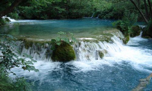 Zdjecie CHORWACJA / Plitvice / Park Narodowy Jezior Plitwickich / Kras
