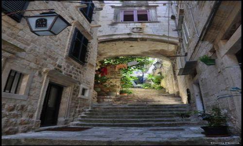 CHORWACJA / Dalmacja / Dubrovnik / Uliczka