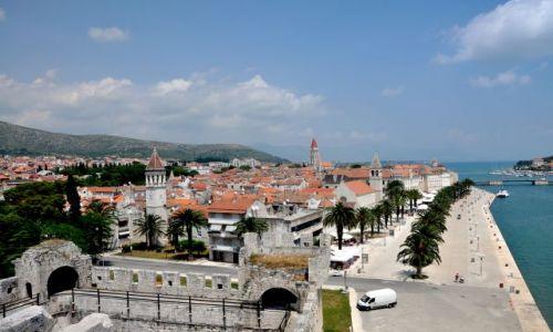 Zdjęcie CHORWACJA / Środkowa Dalmacja / Trogir / Widok na Starówkę Trogiru