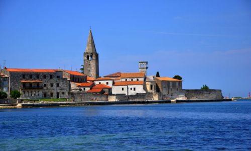 Zdjecie CHORWACJA / Płw. Istria / Porec / Porec - widok na miasto