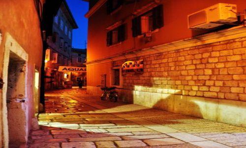 Zdjecie CHORWACJA / Płw. Istria / Porec / Porec nocą