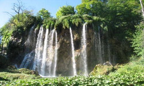 Zdjecie CHORWACJA / Dalmacja / Plitvice / Wodospad