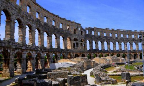 Zdjecie CHORWACJA / Płw. Istria / Pula / Amfiteatr w Puli