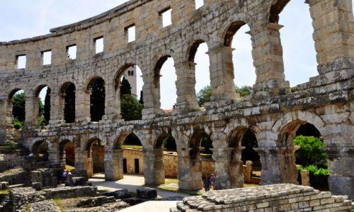 Zdjęcie CHORWACJA / Płw. Istria / Pula / Amfiteatr w Puli
