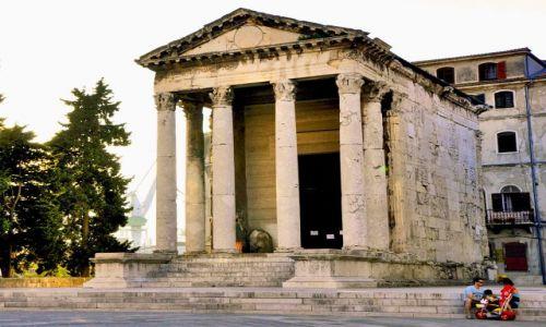 Zdjęcie CHORWACJA / Półwysep Istria, / Pula / Świątynia Augusta