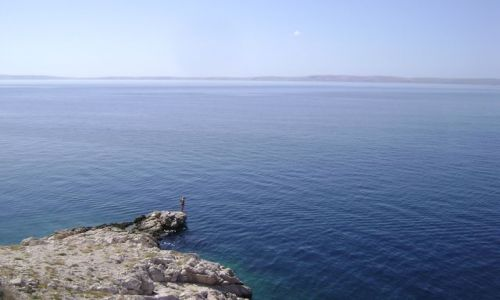 Zdjecie CHORWACJA / - / Adriatyk / Człowiek i przestwór morza