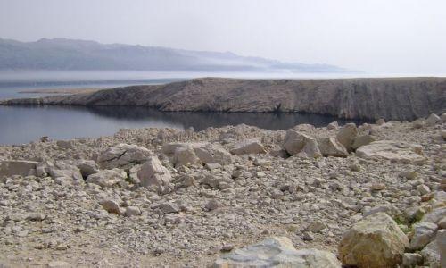 Zdjecie CHORWACJA / - / Wyspa Pag / Smuga mgły 2