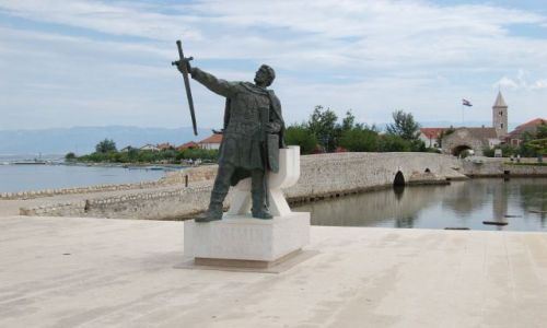 Zdjecie CHORWACJA / Dalmacja / Nin / Turystyka