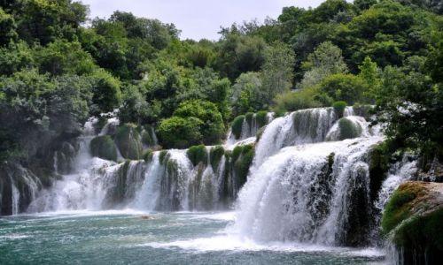 Zdjecie CHORWACJA / Dalmacja / Park Narodowy Krka / Wodospad
