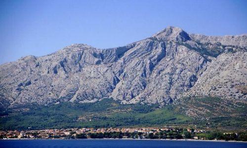 CHORWACJA / Dalmacja / z promu Stari Grad-Dubrovnik / Orebić