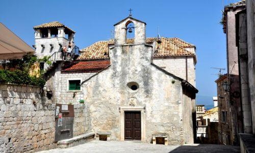 Zdjęcie CHORWACJA / Wyspa Korcula, Dalmacja / Miasto urodzin Marco Polo / Korcula