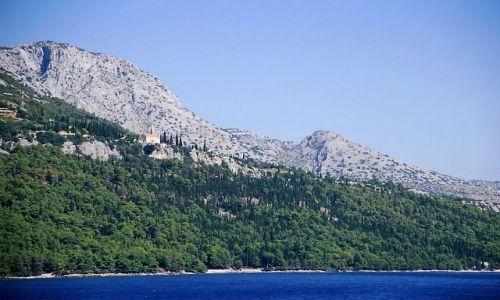 CHORWACJA / Dalmacja / Dalmacja / widoki z promu