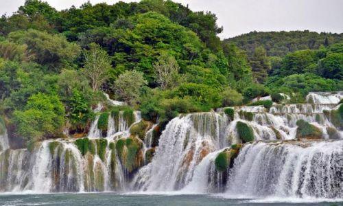 Zdjecie CHORWACJA / - / Środkowa Dalmacja / Park Narodowy Krka  / Wodospady