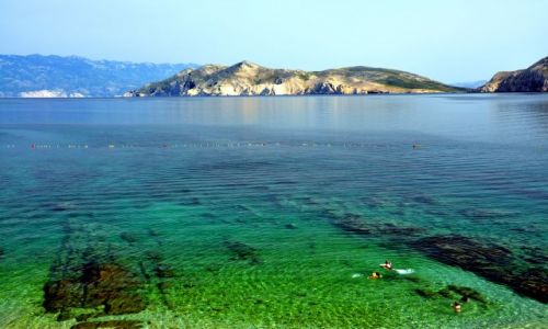 Zdjęcie CHORWACJA / Kvarner / Wyspa Krk, Baszka / Widok z wyspy Krk