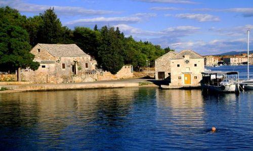 CHORWACJA / Dalmacja / wyspa Hvar / Stari Grad