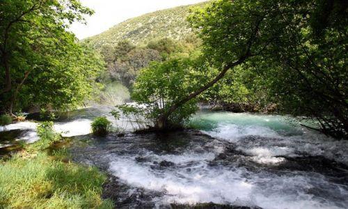 Zdjecie CHORWACJA / Sibenik-Knin, / zarząd Parku narodowego Krka / Park Narodowy KRKA