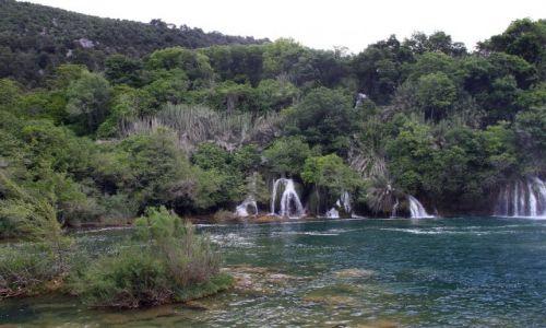 Zdjecie CHORWACJA / Siedziba parku jest w Skradinu. / zarząd Parku narodowego Krka / Wodospady Krka