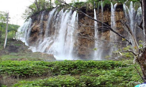 Zdjecie CHORWACJA / Park narodowy Plitwice / Kompleks Jezior Plitwickich / Kraina wodospad