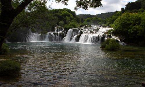 Zdjecie CHORWACJA / Siedziba parku jest w Skradinu. / Park Narodowy Krka / Piękno rzeki KRKA.
