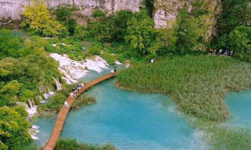 Zdjecie CHORWACJA / Park Narodowy Plitvice Jeziora,  / Plitvice / Plitvice