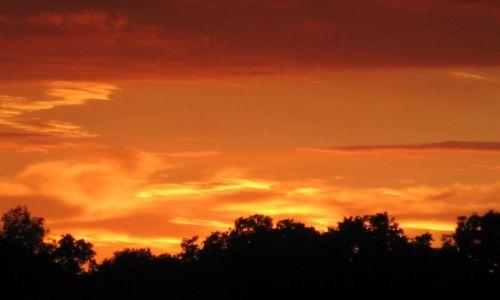 Zdjecie CHORWACJA / - / Zagrzeb / Zachód słońca 2