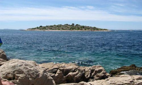 Zdjecie CHORWACJA / Dalmacja / Murter / Bezludna wyspa