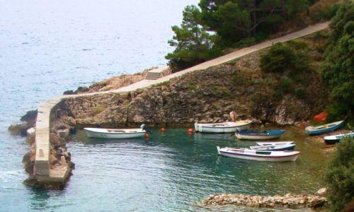 Zdjęcie CHORWACJA / Dalmacja / Adriatyk / zatoczka prywatna