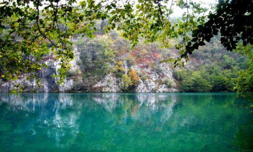 Zdjecie CHORWACJA / - / Plitvice / KONKURS CUDA NATURY jezioro jesienne