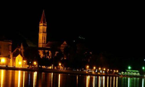 Zdjecie CHORWACJA / Dalmacja / Trogir / Trogir nocą