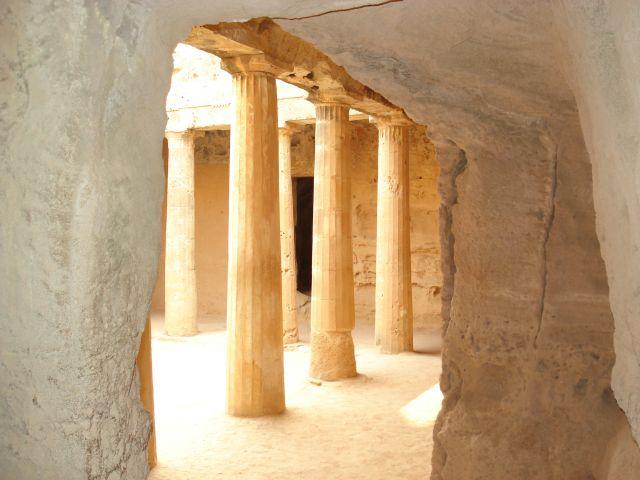 Zdjęcia: Pafos, Pafos, Grobowce królewskie, CYPR