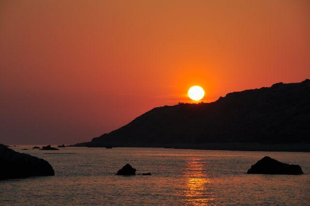 Zdjęcia: Okolice Pafos, Zachód słońca, CYPR