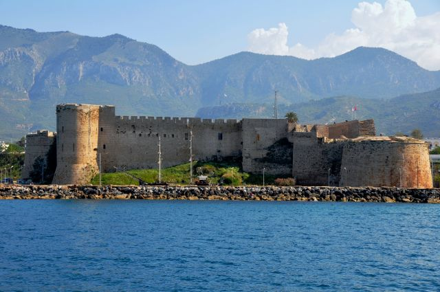 Zdjęcia: Kirenia, Cypr Północny, Zamek w Kirenii, CYPR
