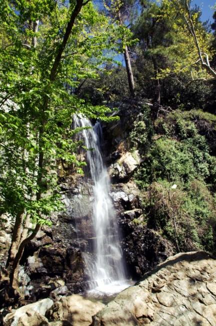 Zdjęcia: Rzeka Kryos Potamos, Góry Troodos, Wodospad Kaledonia, CYPR