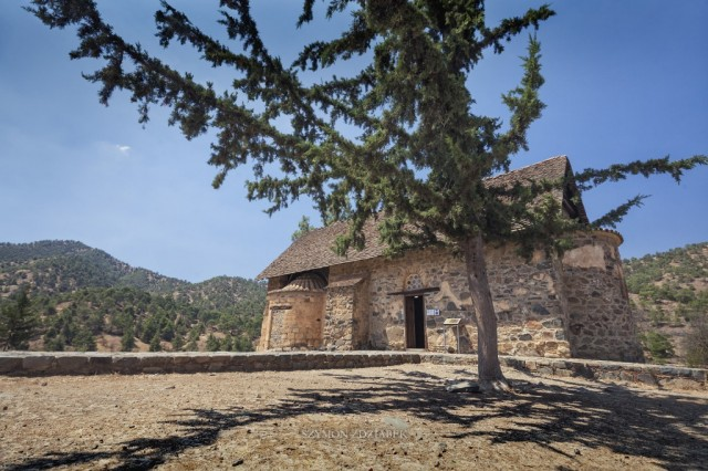 Zdjęcia: Nikitari, Troodos Mountains, Panagia Phorviotissa (Asinou), CYPR