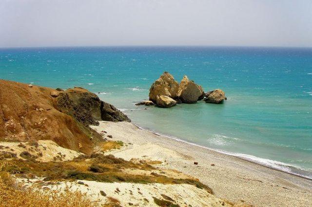 Zdjęcia: w pobliżu Petra  Tou Romiou, zachodnie wybrzeże, Jak tu cicho...., CYPR
