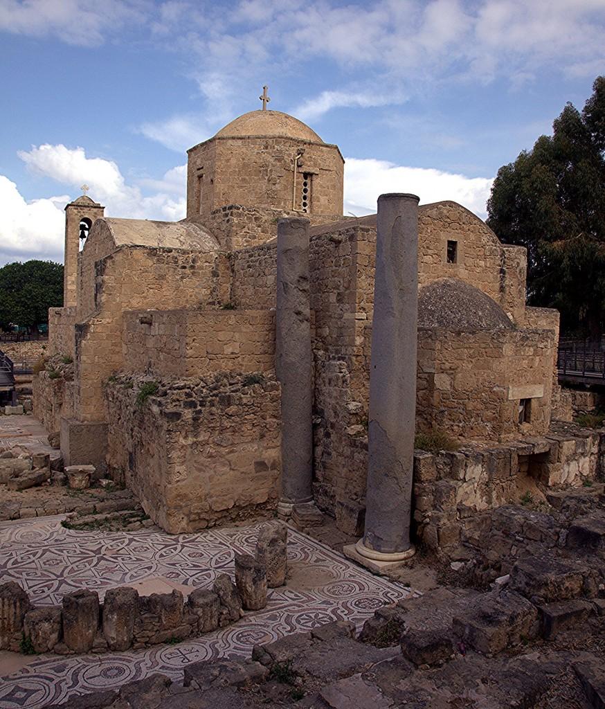 Zdjęcia: Kato Pafos, Pafos, Bazylika Chrysopolitissa, CYPR