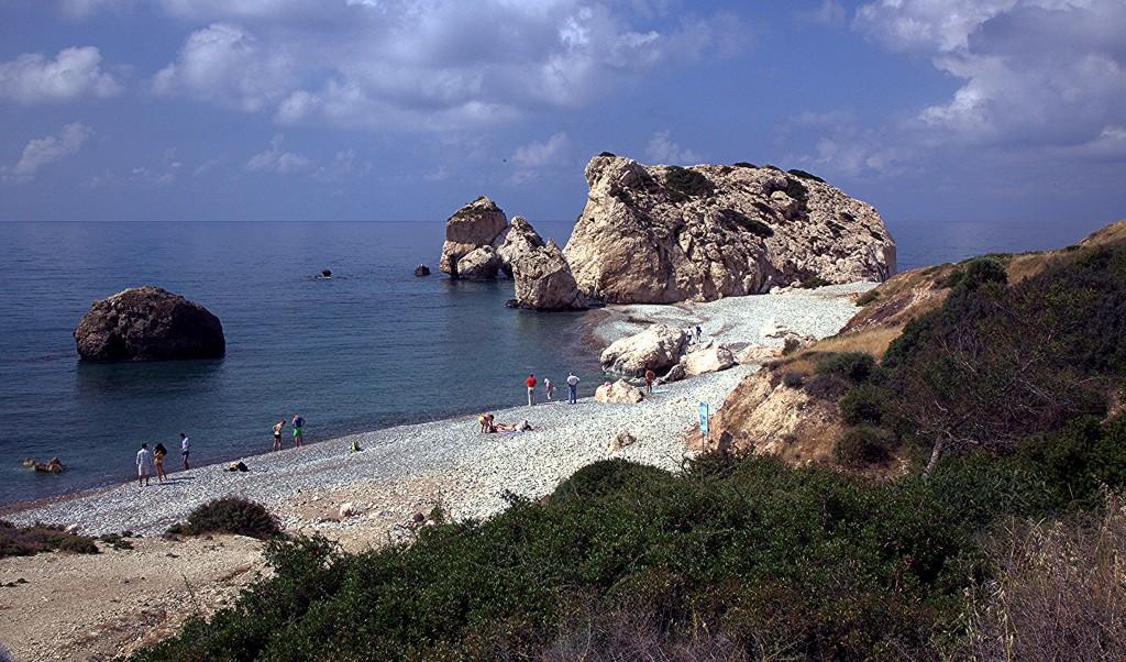 Zdjęcia: Droga z Pissouri, Pafos, Skała Afrodyty, CYPR