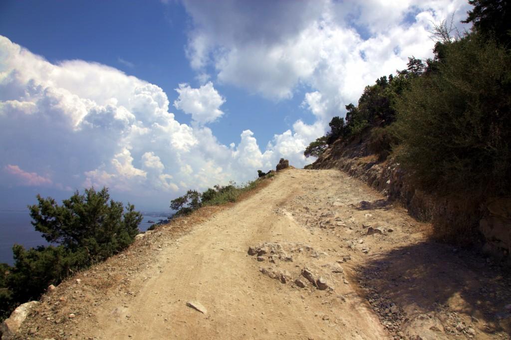Zdjęcia: Półwysep Akamas, Polis Chrysochous, Droga... do nieba, CYPR