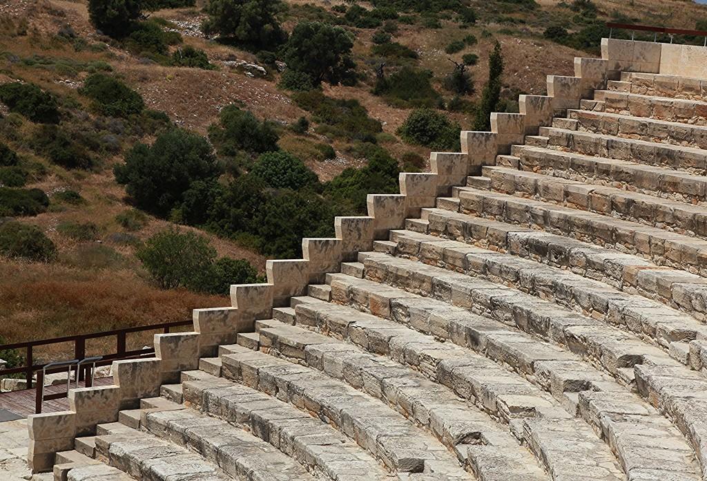 Zdjęcia: Kourion, Limassol, Teatr grecko-rzymski, CYPR