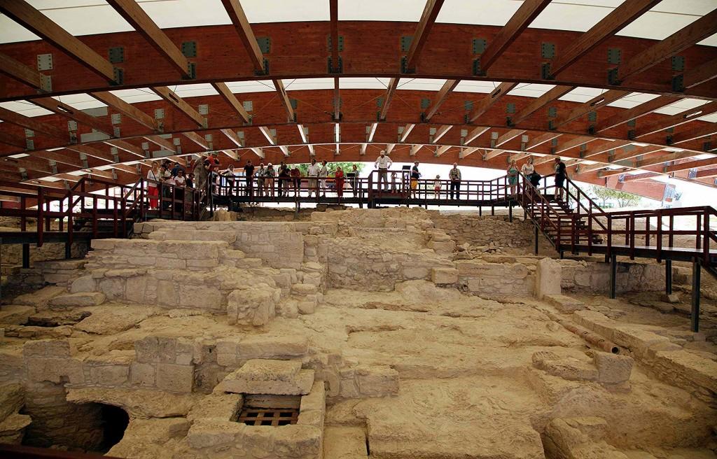 Zdjęcia: Kourion, Limassol, Ruiny domu Eustoliosa, CYPR