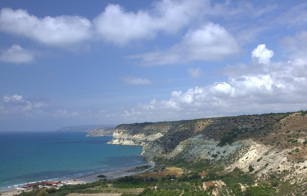 Zdjęcia: Kourion, Limassol, Tutaj za czasów rzymskich był port, CYPR