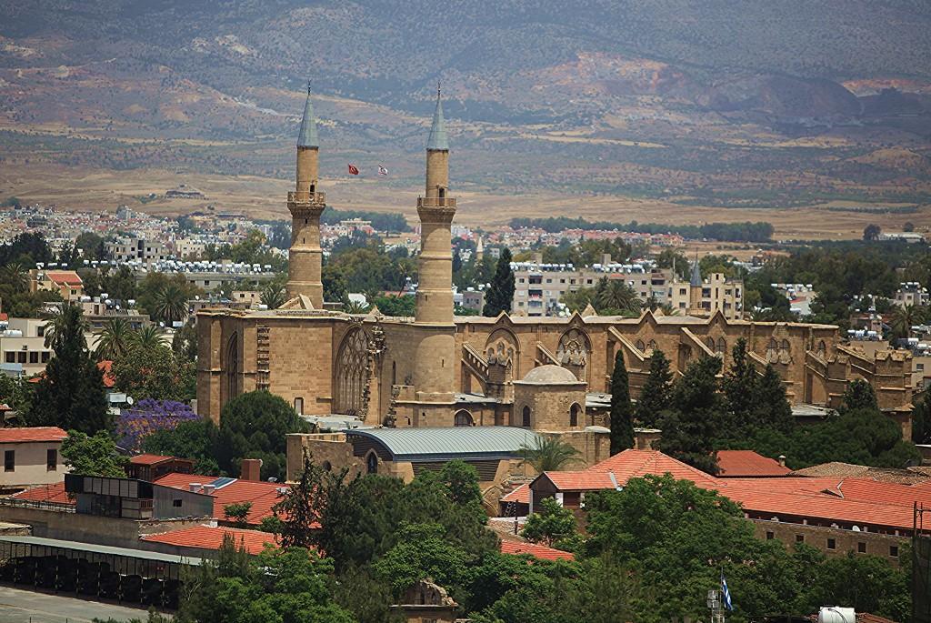 Zdjęcia: Wieża i obserwatorium Shacolas , Nikozja, Katedra św. Zofii/Meczet Selimiye, CYPR