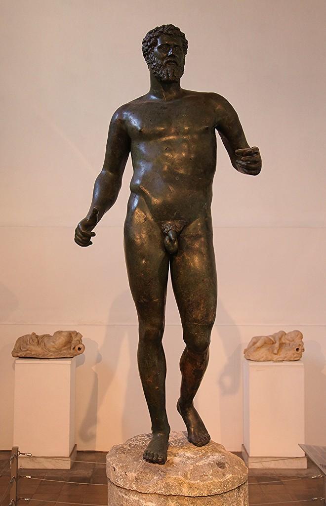 Zdjęcia: Muzeum archeologiczne Cypru, Nikozja, Posąg cesarza Septymiusza Sewera, CYPR