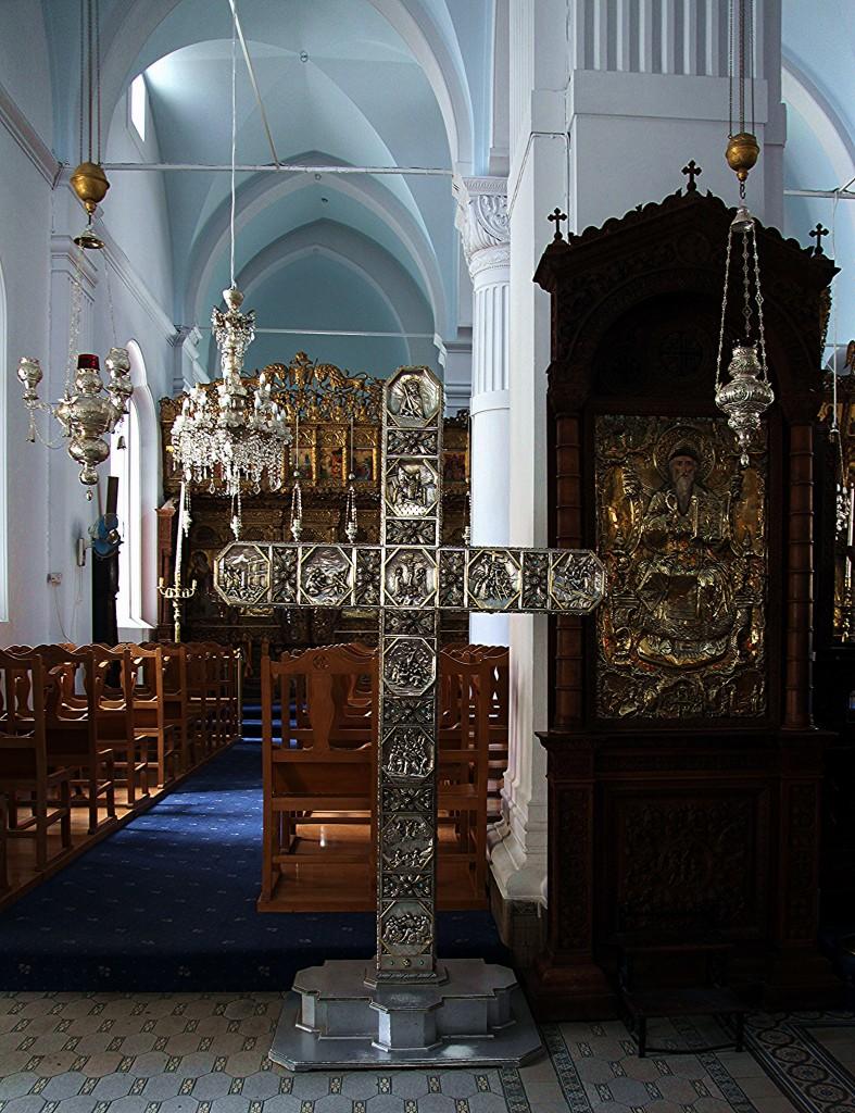 Zdjęcia: Kościół Panagia Faneromeni, Nikozja, Srebrny Krzyż Pasyjny, CYPR