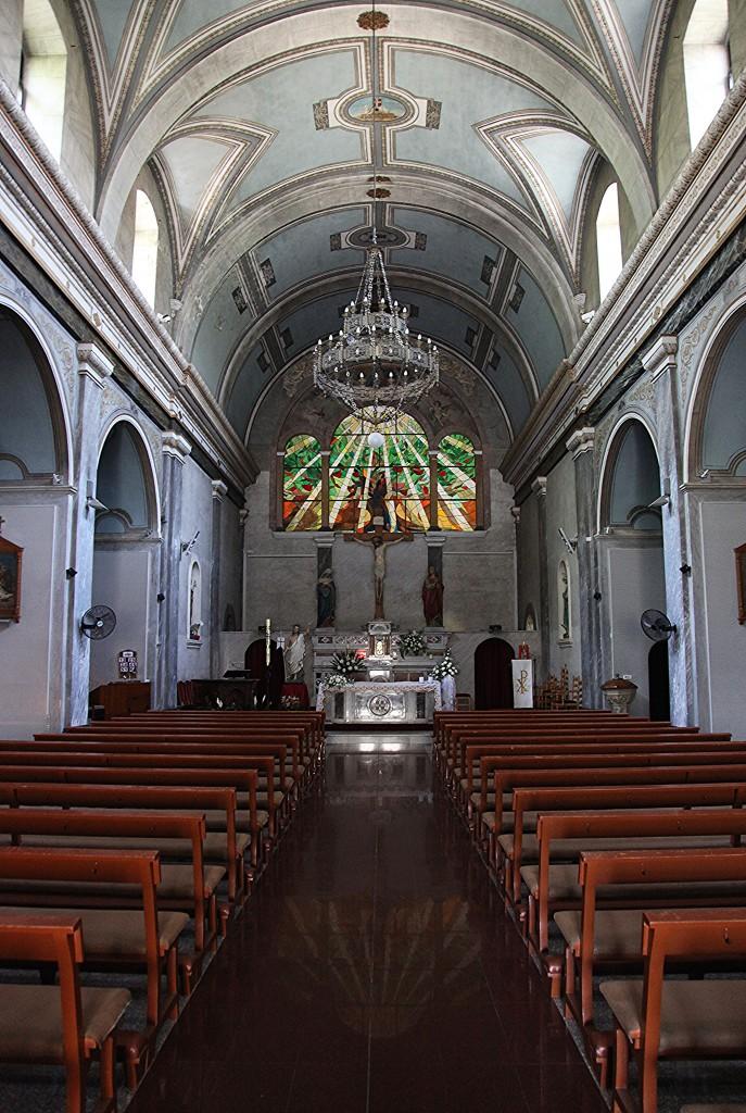 Zdjęcia: Brama Pafos, Nikozja, Kościół pw. św. Krzyża, wnętrze, CYPR