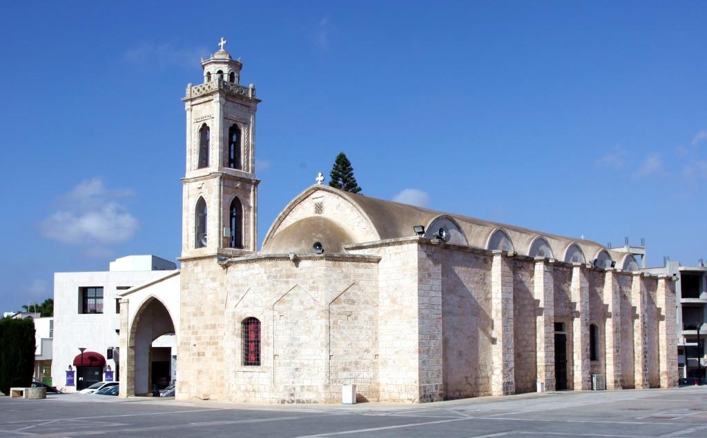 Zdjęcia: Paralimni , Famagusta, Kościół św. Jerzego, CYPR